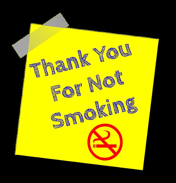 禁煙ありがとう