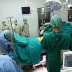 ガモン病院の手術室