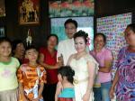 <b>タイの田舎の結婚式</b>